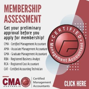 CMA Preliminary membership assessment