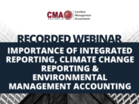 Recording: Importance of Integrated Reporting, Climate Change Reporting & Environmental Management Accounting