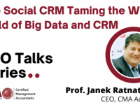 Recording: The Social CRM Taming the Wild Child of Big Data and CRM