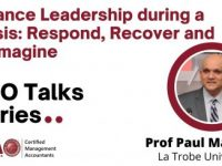 Recording: Finance Leadership during a Crisis Respond, Recover and Reimagine